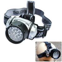 21 LED Waterproof 4 Mode Head Torch Flashlight Bike Lamp Headlamp Camping Hiking