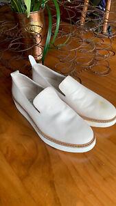 Vince Sanders Slip-On White Sole Sneaker Platform Shoe