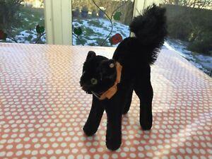 VINTAGE STEIFF  BLACK TOM CAT  .  EAN  7314,00 .