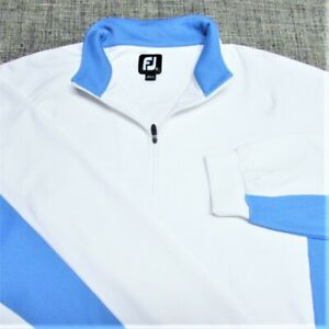 FOOTJOY STRETCH NYLON SPANDEX  1/4 ZIP GOLF PULLOVER--EXCEPTIONAL LOOK & QUALITY