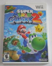 Nintendo Wii Game - Super Mario Galaxy 2  FREE SHIPPING Complete CIB U
