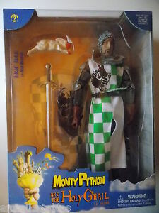 SIDESHOW MONTY PYTHON AND THE HOLY GRAIL 1/6 FIGUR - SIR ROBIN - RITTER NEU/ OVP