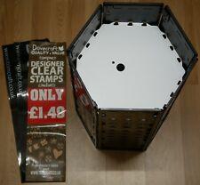 eml pro-bin hexagonal 6 panel retail promotions bargain bin