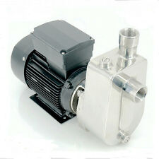 HIGA 750W Stainless Steel Self Priming Jet Water Pump Industrial Pump 333L/min
