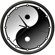 YIN YANG Wall Clock karma feng shui asian ying gift