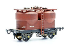 DAPOL C043 20t TWIN SILO CEMENT WAGON PRESTWIN  UNPAINTED PLASTIC MODEL KIT 00