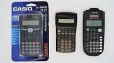 Lot of 3 Calculators Ti-36X Pro Ba ii Plus Casio fx-300ms Plus Tested Working