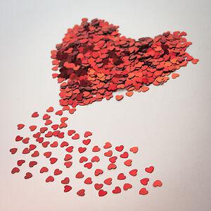 Herzen Konfetti ♥ AKTIONSPREIS ♥ Hochzeit Valentinstag Streuteile Streudeko Herz