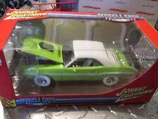 1970 70 DODGE CHALLENGER Johnny WHITE Lightning muscle car J L 1/24 LIME GREEN