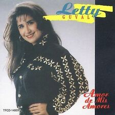 Guval, Letty : Amor De Mis Amores CD
