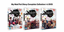 My Mad Fat Diary Complete Collection 1-3 DVD All Seasons 1 2 3 UK Release R2 NEW
