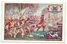 MILITARY - BUFFS, EAST KENT REGIMENT, BATTLE of MALPLAQUET 1709 Postcard