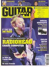 GUITAR PART N°165 + DVD RADIOHEAD/GUIDE ACHAT PACK GUITARE & BASSE/ LED ZEPPELIN