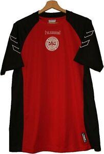 #8 DENMARK Football SHIRT Jersey HUMMEL size L Tricot Maglia Camiseta