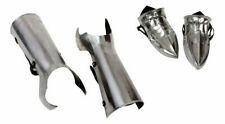 New medieval leg armour with feet  armour halloween handmade solid style gift