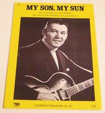 Partition vintage sheet music CARL PERKINS : My Son, My Sun * 70's Piano Guitar