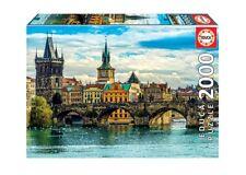 "NEW EDUCA Adult Jigsaw Puzzle 2000 Tiles Pieces ""Views of Prague"""