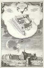 Antique map, De Oude Nonnen genaamt Marien Kamp