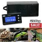 DTC-120 Reptile Dimming Digital Thermostat Amphibious Breeding PID Timmer Heat
