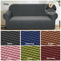 Thick Sofa Covers Elastic Stretch Settee Slipcover Protector Couch 1/2/3/4Seater