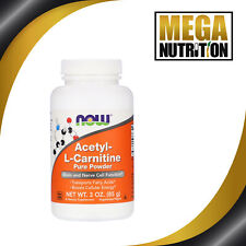 Acetyl-L-Carnitine 85g Pure Powder | Energy Mental Focus | Weight Loss Simming
