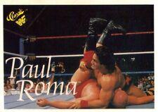 WWE WWF 1990 Classic Series 1 Titan Sports Trading Card - Paul Roma #98