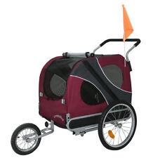 DOGGYHUT®  XL Hundeanhänger Anhänger Fahrradanhänger 2in1 Hundetransport NEU