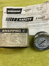 Enerpac 2536R Pressure Gauge, 0 to 6000 psi, 2-1/2In New With Instructions