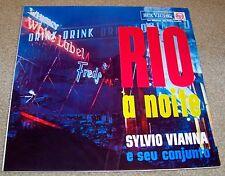 SYLVIO VIANNA e Seu Conjunto – RIO a NOITE - 1963 RCA Victor BBL-1228 (Brazil)