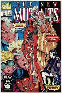 New Mutants (1983) #98 NM 1st App of Deadpool Marvel Comics