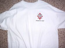 NEW never worn or washed Milwaukee Iron motorcycle autographed white t-shirt XL