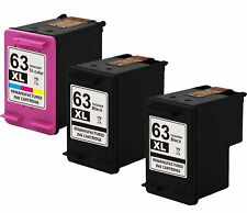 #63 F6U63AN F6U64AN Ink Cartridge For HP 63XL Officejet 3831 3830 4650 3832 3834