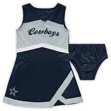 DALLAS COWBOYS NFL OFFICIAL CHEER CAPTAIN CHEERLEADER JUMPER DRESS GIRLS