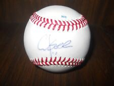 CHUCK KNOBLOCK, Twins and Yankees Signed Baseball Rare Autographed