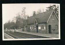 Sussex ROWFANT Railway Station Level Crossing Photograph 1962