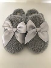 NEW UGG Addison Bow Slippers Gray Size US 8 $110