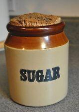 Vintage Sugar Jar / Crock by Pearsons of Chesterfield