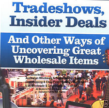 CD - Secrets of Tradeshows & Wholesale Deals - 5 eBooks (Re-Sell)