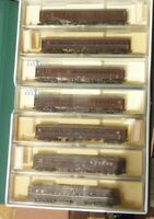 Kato 10-213 Spur N Personenzug 7-teilig Jr PC Ltd.Express Train set Case braun