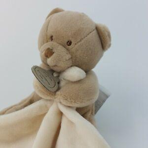 DOUDOU ET COMPAGNIE  BEAR  TEDDY PLUSH Comforter BLANKET