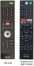 Replaced Sony RMF-TX300U Ver. 3 Remote for Sony 4K HDR Smart LED TVs