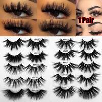 Thick Long False Eyelashes 30mm Lashes Eye Lash Extension 3D Soft Mink Hair