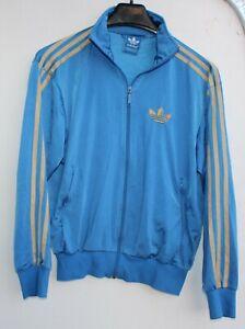 Adidas Firebird Trainingsjacke Sport Fitness Jacke Größe XS blau