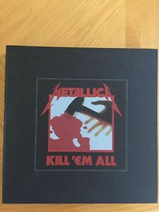 Metallica Kill 'Em All 2016 Super Deluxe Box Set - 99% complete, never played!