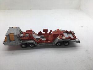 Vintage Matchbox Lesney Super Kings Toy Car 1975 8 Wheeler X4 Transporter K-13-2
