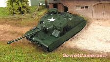 1/72 A39 Tortoise British Heavy Assault Tank WWII Diecast Model Fabbri New