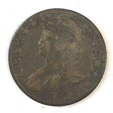 1824/4  0-110 Bust Half Dollar - Nice Original -  High Quality Scans #D112