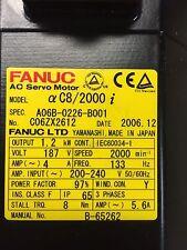 FANUC - ALPHA C8/2000i SERVO MOTOR A06B-0226-B001