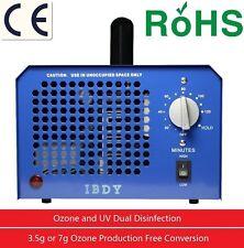 Profi Ozone generator incl. UV light 7G / 3.5G 7000 mg/h Timer Ozonizer Ozone UK