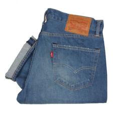 Jeans da uomo blu invecchiato, taglia 38